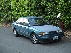 worldhazards 1992 Mazda Protege