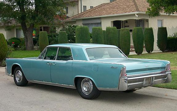 ultrasled 1965 lincoln continental specs photos. Black Bedroom Furniture Sets. Home Design Ideas