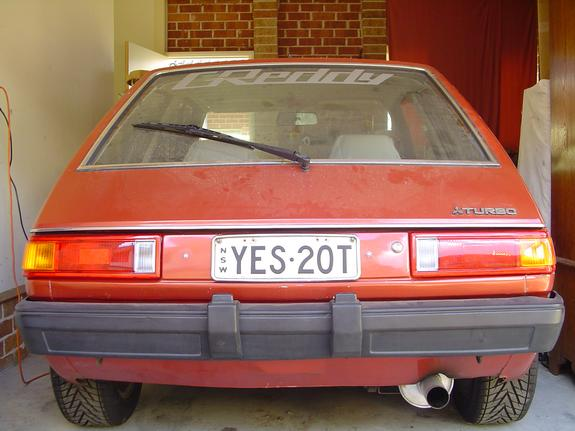 Another Coltfiction 1981 Mitsubishi Colt post... - 4616950