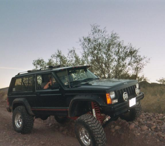 Chris669 1994 Jeep Cherokee Specs, Photos, Modification