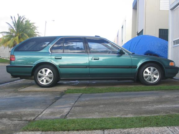 1993 honda accord wagon specs