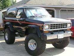 BigBlackBIIs 1985 Ford Bronco II