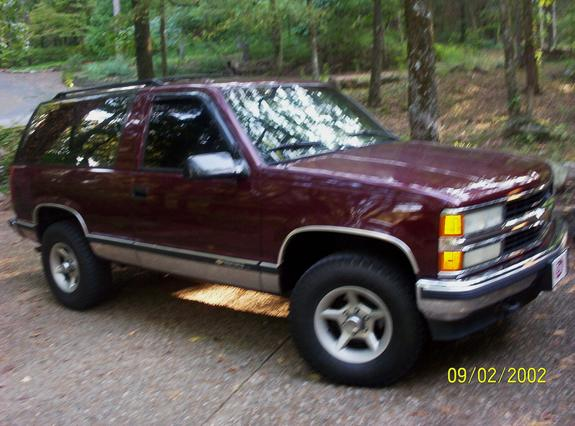 maroonmadness 1994 chevrolet blazer specs photos modification info rh cardomain com 1994 chevy s10 blazer repair manual 1994 chevy blazer 4x4 manual