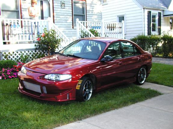 red1997pimpscort 1997 Ford Escort