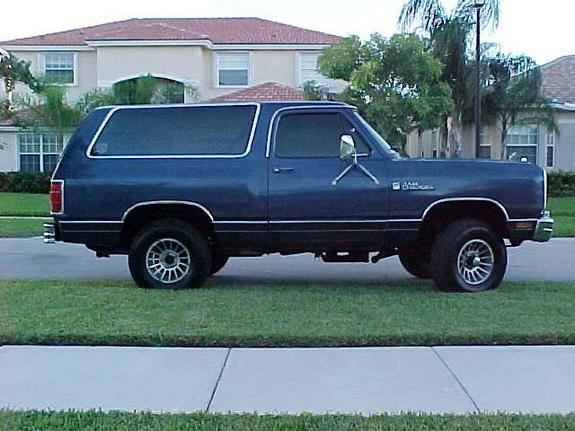 86rcbigblue 1986 Dodge Ramcharger Specs Photos Modification Info At Cardomain