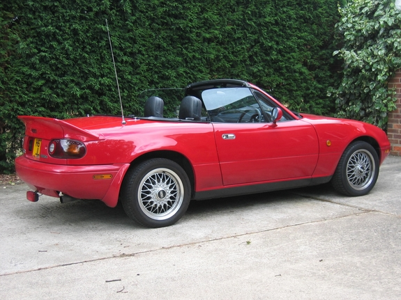 littleredrooster 1991 mazda miata mx 5 specs photos modification info at cardomain. Black Bedroom Furniture Sets. Home Design Ideas