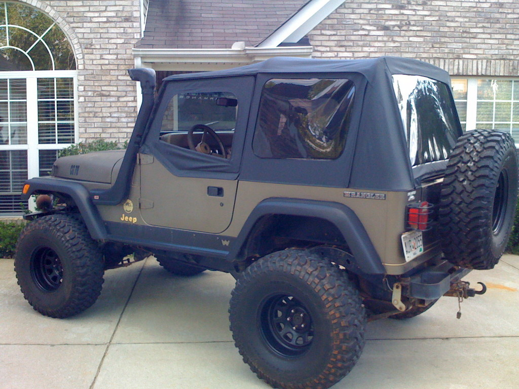 C A in addition Hqdefault also  further Jeep Wrangler New Brakes Lines Front Calipers New Paint Tires Seat Covers moreover . on 1991 jeep wrangler fuel line