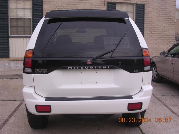 Another Klean2oooMS 2000 Mitsubishi Montero Sport post... - 4748724
