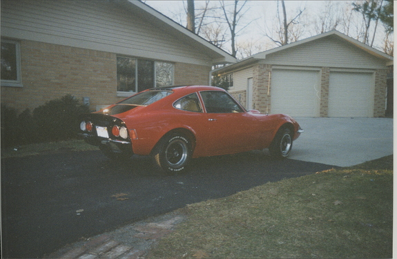 1973 Opel GT