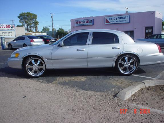Another Wheelshop6 1998 Lincoln Town Car Post Photo 4793854