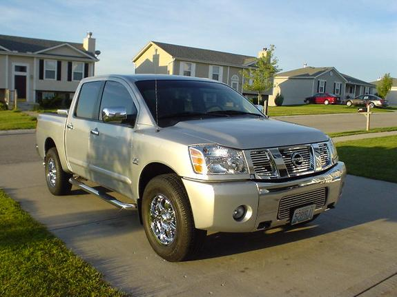 shevy14 2004 nissan titan crew cab specs photos modification info at cardomain. Black Bedroom Furniture Sets. Home Design Ideas