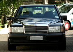 golfvr6boxs 1992 Mercedes-Benz 190-Class