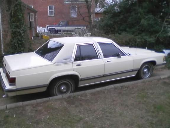 Docx2099 1988 Mercury Grand Marquis