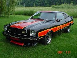 myblack78cobras 1978 Ford Mustang II