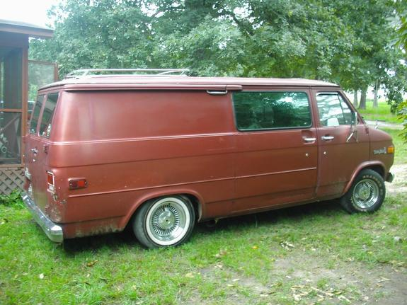 Large on 1976 Dodge Van