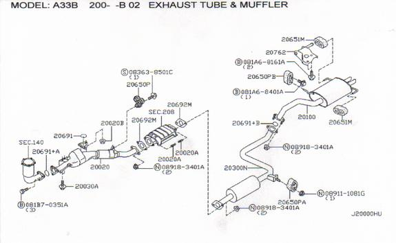 On Nissan Maxima Which O2 Sensor Is on 2006 lexus rx330 parts diagram