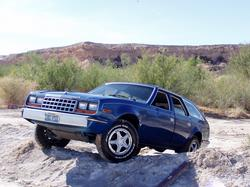 Bluebattlewagon 1983 AMC Eagle