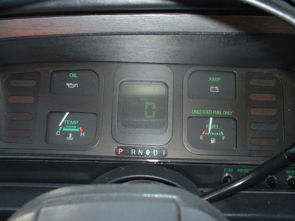 1986 Ford Thunderbird Interior Ashton50 1986 Ford Thunderbird