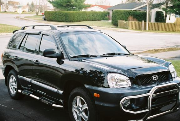 cancun lord2 2003 hyundai santa fe specs photos modification info at cardomain. Black Bedroom Furniture Sets. Home Design Ideas