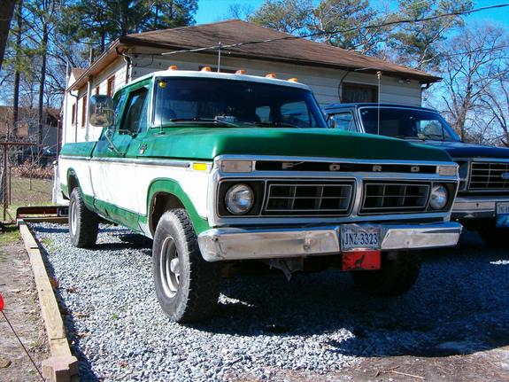 1974 ford f250 camper special specs