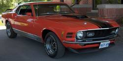 MPK78 1970 Ford Mustang