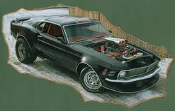 kazzoom 1970 Ford Mustang