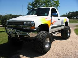Crusher_06 2000 Chevrolet Silverado 1500 Regular Cab