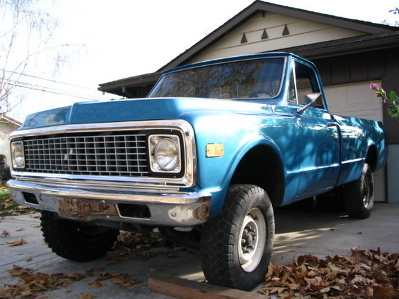 Another pooz911 1971 Chevrolet C/K Pick-Up post... - 4985916