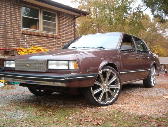 Volkswagen Of Clarksville >> ballinbeano 1988 Chevrolet Celebrity Specs, Photos ...