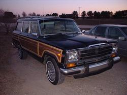 sunliner 1989 Jeep Grand Wagoneer