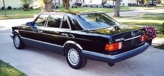 Another 2oooContinental 1990 Mercedes-Benz S-Class post... - 5027167