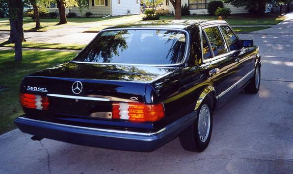 Another 2oooContinental 1990 Mercedes-Benz S-Class post... - 5027168