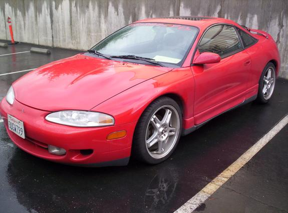 adversary 39 s 1996 mitsubishi eclipse in tracy ca. Black Bedroom Furniture Sets. Home Design Ideas