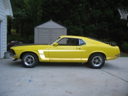 6T9BOSS 1969 Ford Mustang
