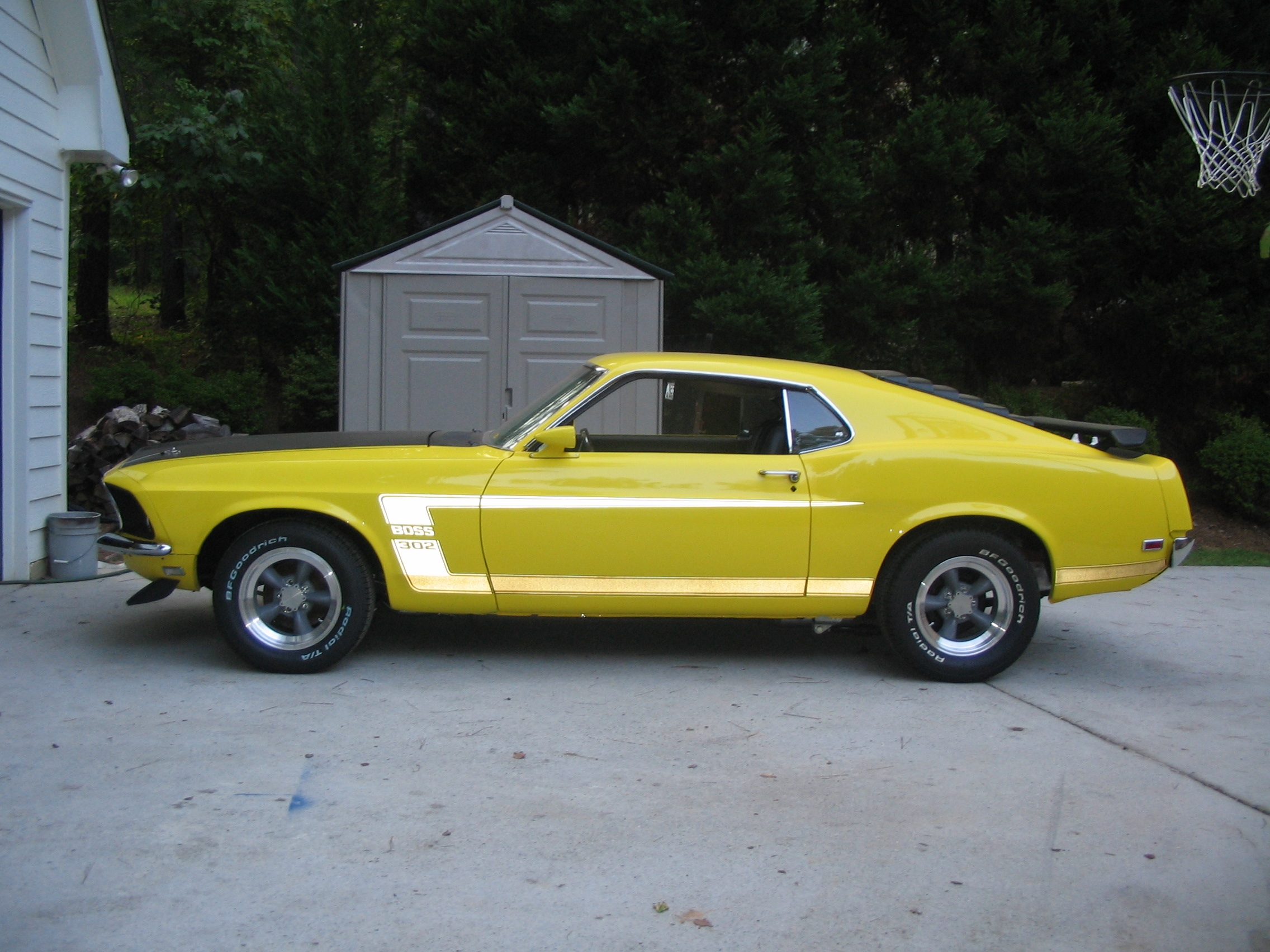 6t9boss 1969 ford mustang specs photos modification info at cardomain. Black Bedroom Furniture Sets. Home Design Ideas