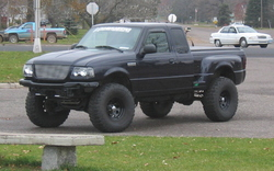 RangerSVT_Intrcps 2002 Ford Ranger Regular Cab