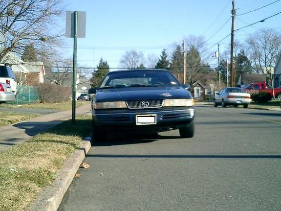 93_xr7 1993 Mercury Cougar 5135173