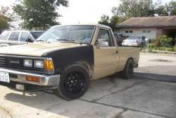 720ZBOYs 1985 Nissan Regular Cab