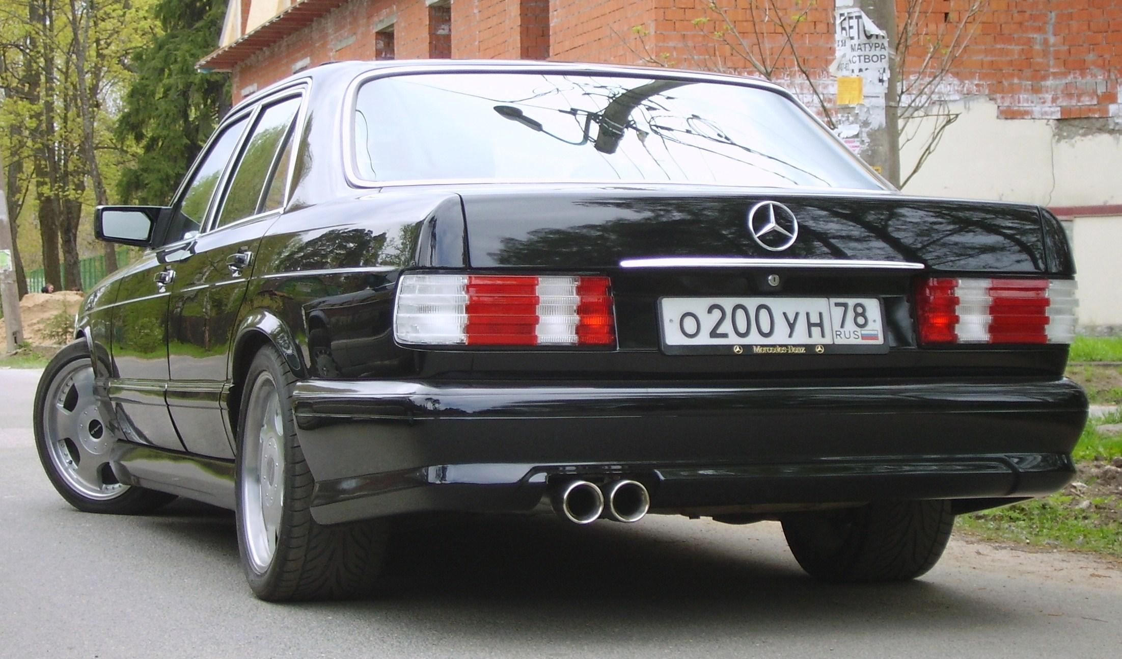 Another igor500se 1990 Mercedes-Benz S-Class post... - 5158523