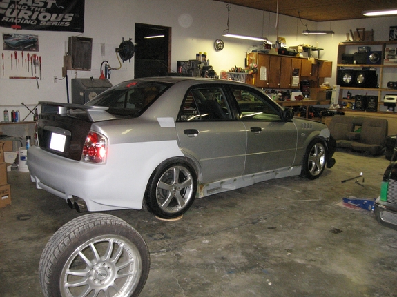Another pimpnadx 2002 Mazda Protege post... - 5181383