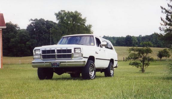 92 dodge ramcharger