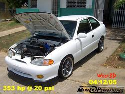 Another marcos24 1995 Hyundai Accent post... - 5208617