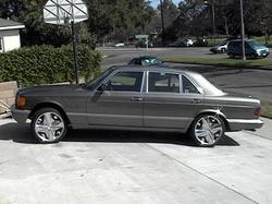 Grim_Sorrows 1989 Mercedes-Benz S-Class