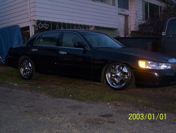 Another Baggedtcon20s 1998 Lincoln Town Car Post 6014142 By