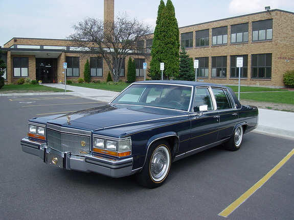 Big80sclic 1988 Cadillac Brougham Specs, Photos, Modification ...