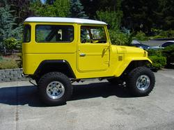 goldn4unows 1965 Toyota Land Cruiser