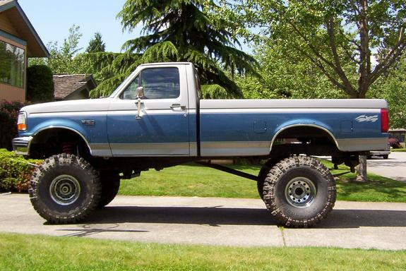 Large on 1993 Dodge Ram