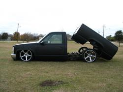 chevy93bagged 1993 Chevrolet C/K Pick-Up