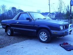 ducktapetim777s 1985 Subaru Brat