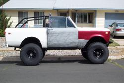 Large on Custom Roll Cage Scout Ii